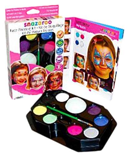 Fancy Ole - Mädchen Girl Jungen Boy Buntes Schmink Set, 8 Schminkfarben, (Girl Kostüm Army Make Up)