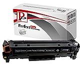 PerfectPrint Ersatz-Tonerkartusche, kompatibel mit HP Color Laserjet CM23202320DN 2320FXI 2320N 2320NF CP2020NF CP2025FXI CP2020CP2020D CP2020DN CP2020FXI CP2020FXI CC530A (schwarz)