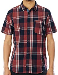 Chemise à manches courtes Element Deschutes Marsala