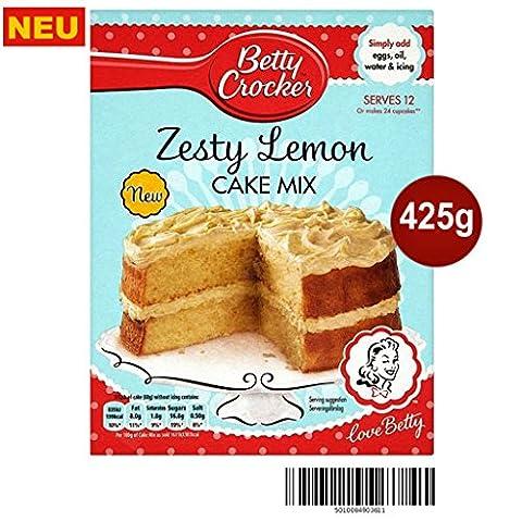 Betty Crocker Zesty Lemon Cake Mix 425g -