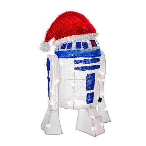 Star Wars Kurt Adler UL 50-Light 71,1cm R2D2Lametta Dekoration mit Paket - Kurt Adler Christmas Lights