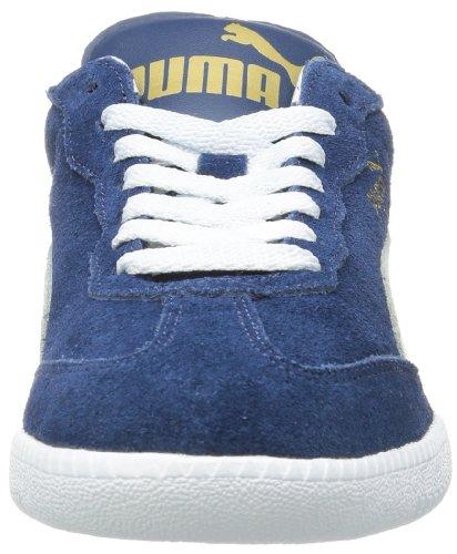 Puma Liga Suede Unisex-Erwachsene Sneakers Blau (dark denim-white 60)