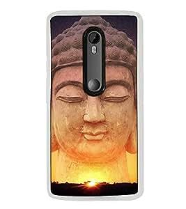 Fuson Designer Back Case Cover for Motorola Moto G3 :: Motorola Moto G (3rd Gen) :: Motorola Moto G3 Dual SIM (Buddism Buddhist Jai Bheem India King)