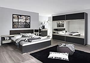 Camera Da Letto Bianco E Grigio : Wolf camera da letto completo set camera da letto set prenzlau