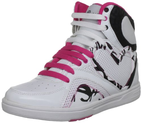 Pineapple Mara, Baskets mode femme Blanc / Rose