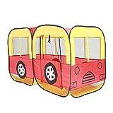 HQQ Kinder Spielen Zelt Auto Spiel Haus Baby Spielzeug Haus große Haus Innen Verdicken Bus Zelte