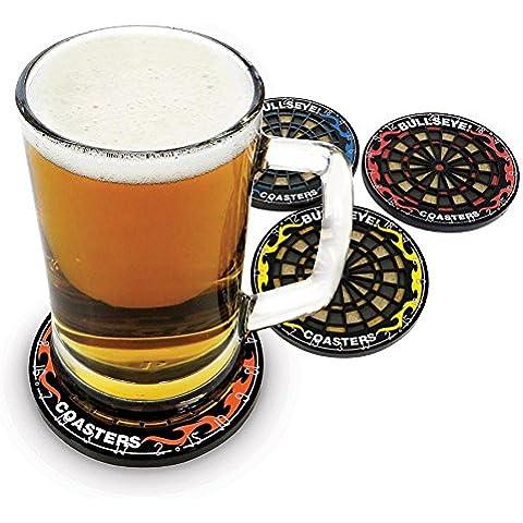 Regalos para amigo invisible, bromas, etc., Dartboard Drink Coasters