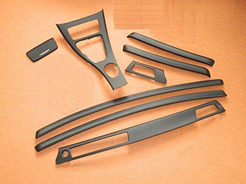 Dekorleisten Interieurleisten Carbon Folien Set passend für E90 E91