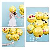 BESTOMZ Party Luftballons Gesichtsausdruck Balloons für Party Zur Dekoration, 45cm (24 Stück) Vergleich