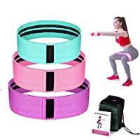 Resistance Bands for Legs and Butt,Exercise Bands Hip Bands Wide Booty Bands Workout Bands Sports Fitness Bands Stretch Resistance Loops Band Anti Slip Elastic