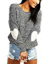 AOGD Damen Herbst Und Winter Pullover Sexy Pullover Pulli Strickpulli  Sweatshirt Hipster Hoodie Lose Lässige Langärmlige cf8131aa49