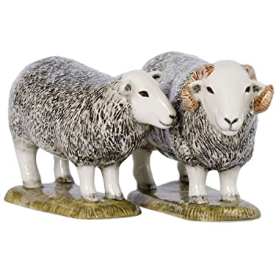 Quail Ceramics - Herdwick Sheep Salt And Pepper Pots by Quail Ceramics