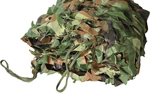 Blinky 7985604Red Toalla camuflaje militar, verde, 4x 5m