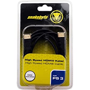 High Speed HDMI Cable – 1.3c / 1.8m – [PS3, Xbox 360]