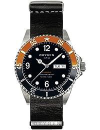 University Sports Press EX-D-SNK-40-NL-BL - Reloj de cuarzo unisex, correa de cuero color negro