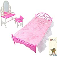 E-TING Rosa Bed Dressing Table & Chair