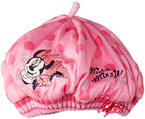 Disney - Minnie Mouse Nh4153, Berretto per bambine e ragazze, Rosa (Prism Pink), Taglia produttore: 54 cm