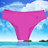 calistous l'élasticité de la Nouveau Parti populaire piscine Bain pour Homme Brésil Plage Bikini Maillots de bain bain string m-purple, Rouge, M-Rose Red