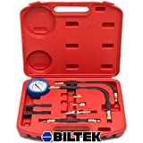 Biltek® 0–100 psi Pompe d'injection de carburant Injecteur testeur Test Jauge de pression Essence Cars