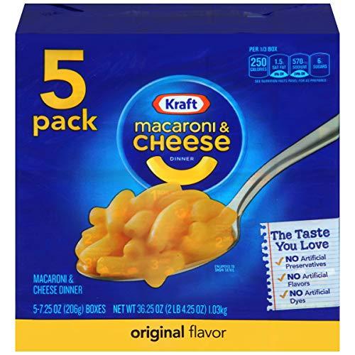 Kraft - Mac con queso original de un 7