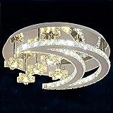 SF Luxus Led Wohnzimmer Lampen Runde Kristall Lampe Schlafzimmer Halle Atmosphäre Europäische Moderne Persönlichkeit Deckenbeleuchtung