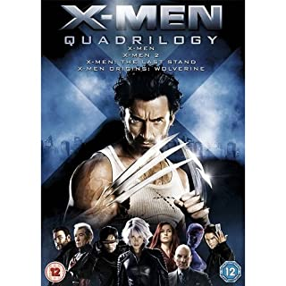 X-Men Quadrilogy - X-Men, X-Men 2, X-Men: The Last Stand, X-Men Origins: Wolverine [DVD] (B002DWAYNQ) | Amazon price tracker / tracking, Amazon price history charts, Amazon price watches, Amazon price drop alerts
