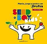 Seedbox SBKBR - Huerto urbano infantil de rúcula y tomates cherry, color blanco (Brotes)