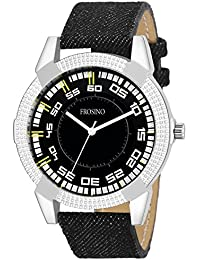 Frosino FRAC061810 Analog Frosting Black dial Watch for Men