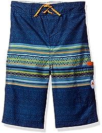 Tommy Bahama Boys' Stripe Side Pocket Swim Short