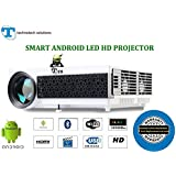10 Year's Long Life Projector>TS-HD11A>Smart Android 4.4 Wi-fi>HD LED Projector>4000Lumens>Native Resolution 1280x800 Up-to 4k Video Support >Home Cinema >Education>Office Purpose With Big Projection