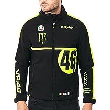 Valentino Rossi Softshelljacke Monster Neon Black, MotoGP, vr218304