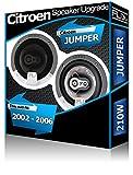 Citroen Jumper Altavoces de puerta delantera Fli Audio Altavoces de coche kit 210W