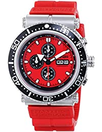 Nautec No Limit Herren-Armbanduhr XL Deep Sea Professional Chronograph Quarz Kautschuk DS-P QZ2/RBSTSTRD