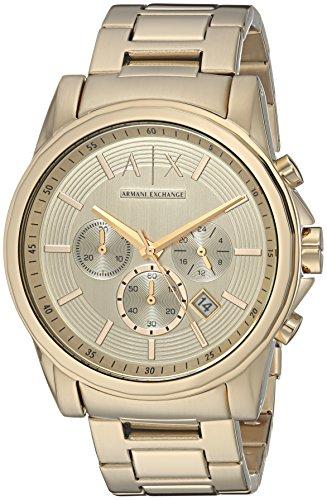 894376e6c8c0 reloj armani dorado hombre