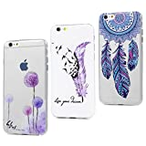 3x Coque pour iPhone 6S/iPhone 6 Housse en Silicone Gel Souple TPU Case Cover...