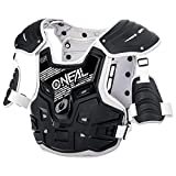 O'Neal PXR Stone Shield Protektoren Jacke Offroad Motocross Enduro MX Panzer Rücken Brust, 0734-1, Farbe grau