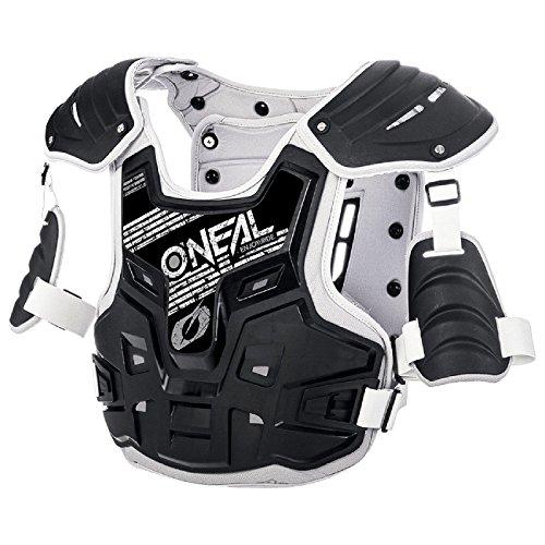 O\'Neal PXR Stone Shield Protektoren Jacke Offroad Motocross Enduro MX Panzer Rücken Brust, 0734-1, Farbe Grau