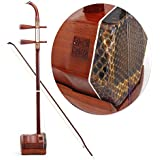GFEI handmade erhu / rendement professionnel rosewood instrument / string erhu ensemble d'instruments,b