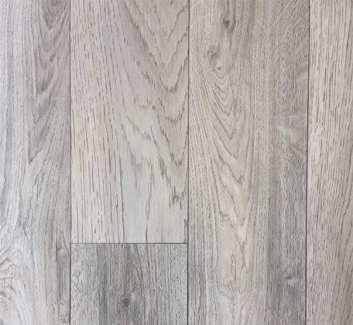 PVC Vinyl-Bodenbelag in grauem Vintagelook   PVC-Belag verfügbar in der Breite 2 m & in der Länge 5,0 m   CV-Boden wird in benötigter Größe als Meterware geliefert   rutschhemmend