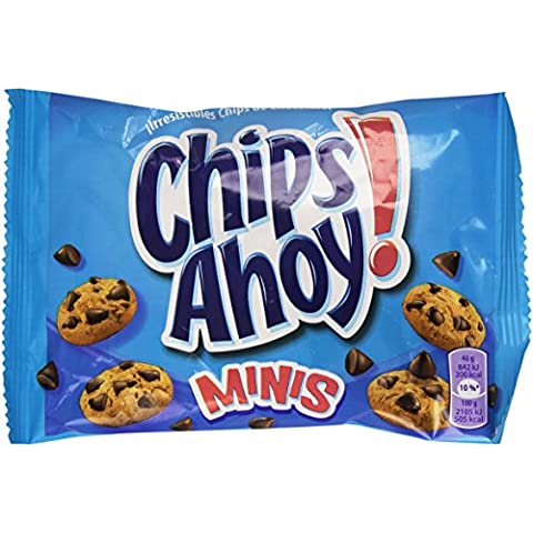 Chips Ahoy - Minis - Galletas con gotas de chocolate- 40 g