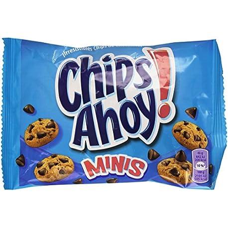 Chips Ahoy Minis Galletas con gotas de chocolate 40 g