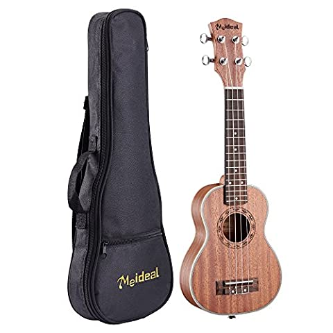 M G Fly Young Ukulélé Ukulélé muh-21Meideal 53,3cm professionnel pour guitare acoustique Ukulélé soprano sapelli pour professionnel avec sac de transport pour 1Lot