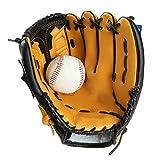FQCD Gant de Baseball - gaucher et droitier Gant de Baseball et de Balle-Molle Fielding - Gant de Baseball en Cuir synthétique for maître de Terrain