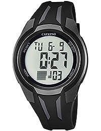 Calypso Herrenarmbanduhr Quarzuhr Kunststoffuhr mit Polyurethanband Alarm-Chronograph digital alle Modelle K5703, Variante:06