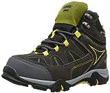 Hi-Tec Altitude Lite I Junior Waterproof, Unisex-Kinder Trekking- & Wanderschuhe, Grau (Charcoal/black/yellow Sunray 051), 38 EU