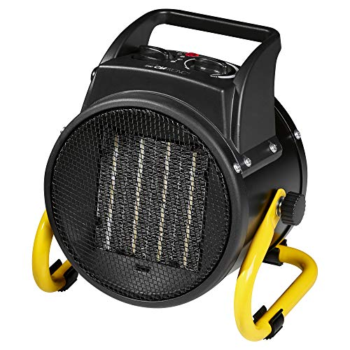 Clatronic-HL-3651-Calefactor-de-aire-caliente-cermico-2-niveles-de-temperatura-10002000-W-funcin-ventilador-4-velocidades-negro