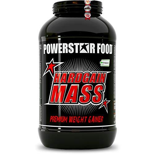 HARDGAIN MASS | Premium Weight Gainer mit Kreatin, sauberen Kohlenhydraten & extrem hohem Proteingehalt | Für mehr Masse, Kraft & qualitativen Muskelaufbau | 3600g | Vanilla | Made in Germany