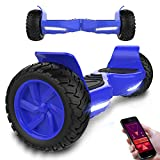 Markboard Self Balance Scooter 8,5 Off-Road SUV - 700W Motor - App Funktion mit 3 Fahrmodus - Bluetooth Lautsprecher - LED - CE Zertifikate