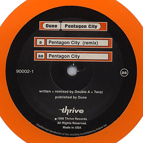 Pentagon City [Vinyl Single 12'']