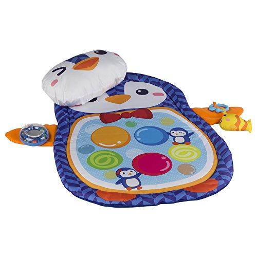 winfun - Alfombra de juegos para bebés con forma de pingüino (44239)